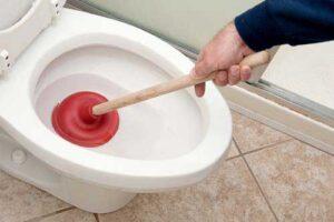 WC verstopt Hillegom